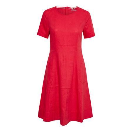 Kalena Skater Dress Red