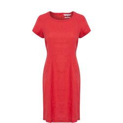 Aundreas Skater Dress Red