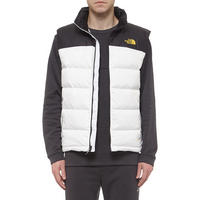 Nuptse Quilted Gilet White