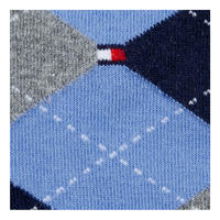 Two-Pack Arygle Socks Blue
