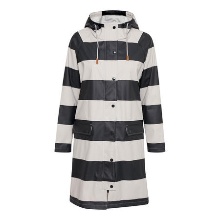 Kaine Striped Jacket Navy