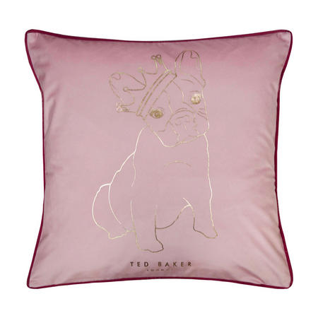 King Cotton Dog Cushion Pink