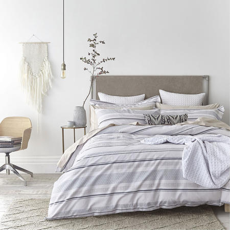 Cottonsoft Stripe Weave Coordinated Bedding