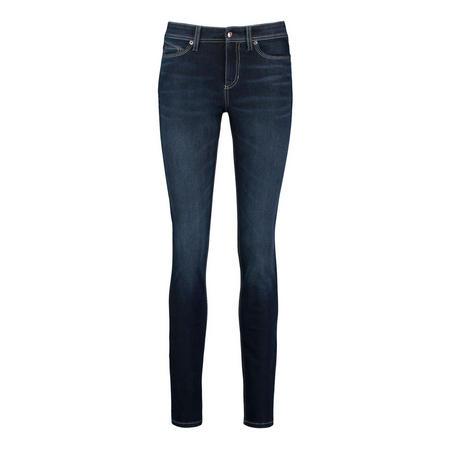 Dark Wash Skinny Jeans Blue
