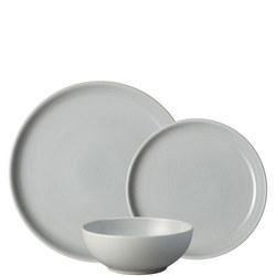 Intro Soft Grey 12 Piece Tableware Set Grey
