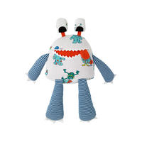 Mini Monsters Soft Toy Multicolour