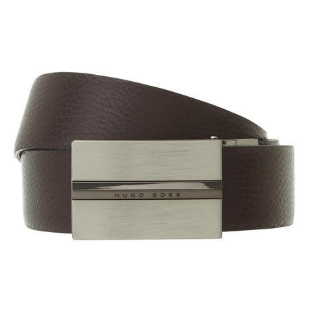 Ores Grained Leather Belt