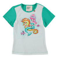 Mermaid Raglan Tee Green