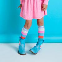 Striped Knee Socks Multicolour