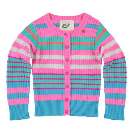 Stripe Cardigan Multicolour