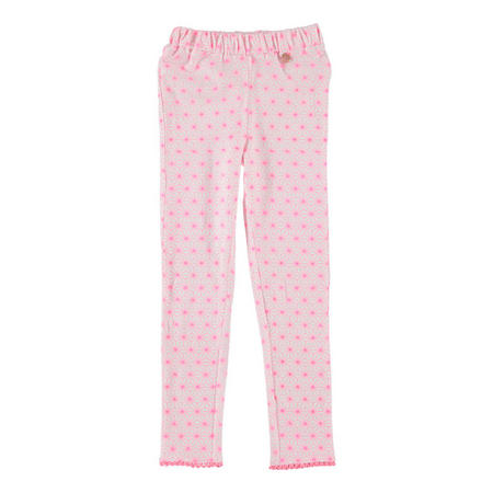 Geo Print Leggings Pink