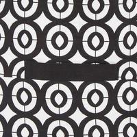 Geometric Print Blazer 182530 Black
