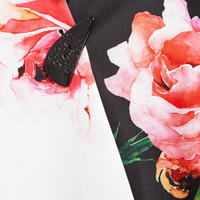 Rose Print Jacket Multicolour