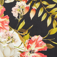 Off-Shoulder Floral Dress Multicolour