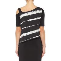 Off-The-Shoulder Dress 182791 Black