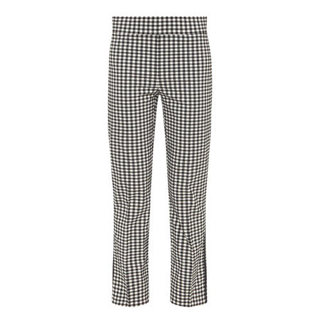 Gingham Trousers Black & White