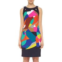 Patterned Pencil Dress Multicolour