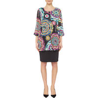 Contemporary Print Jacket Multicolour
