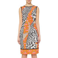Multicolour Pattern Dress Multicolour