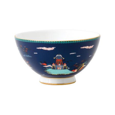 Wonderlust Blue Pagoda Bowl 11cm