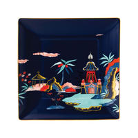 Wonderlust Blue Pagoda Tray 14.5cm