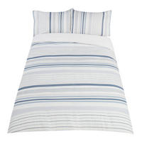 Weymounth Stripe Duvet Set Blue