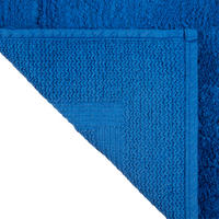 Deep Pile Bath Mat with Microfresh Technology Blue