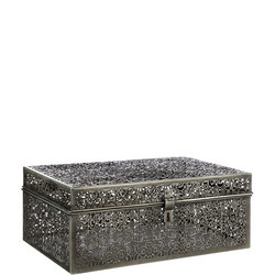 Fusion Etched And Embossed Metal Trunk