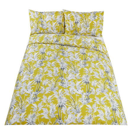 Kaipura Citrine Duvet Cover Set Green