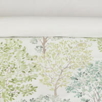 Country Leckford Trees Duvet Cover Set Green