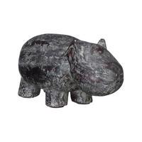 Fusion Decorative Hippo Grey