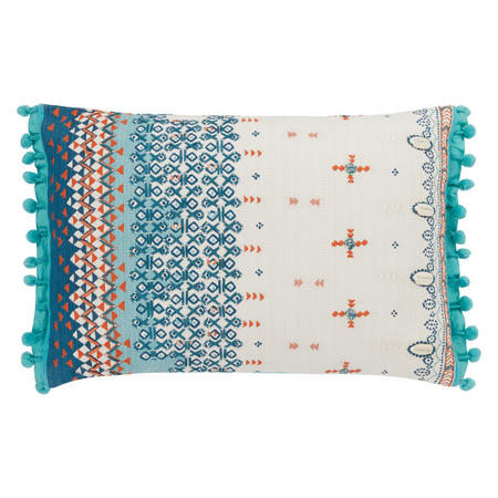 Taj Embroidery Cushion Multicolour
