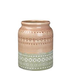 Stoneware Pot Multicolour