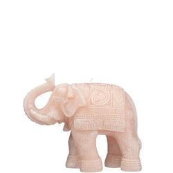 Elephant Candle Pink