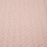 Croft Isla Waffle Throw Pink