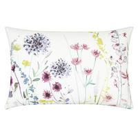 Leckford Border Cushion Purple