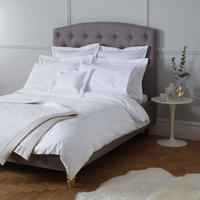 Harlow 400 Thread Count Egyptian Cotton Bedding Silver-Tone