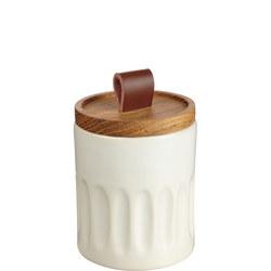 Croft Stoneware Tall Trinket Pot White