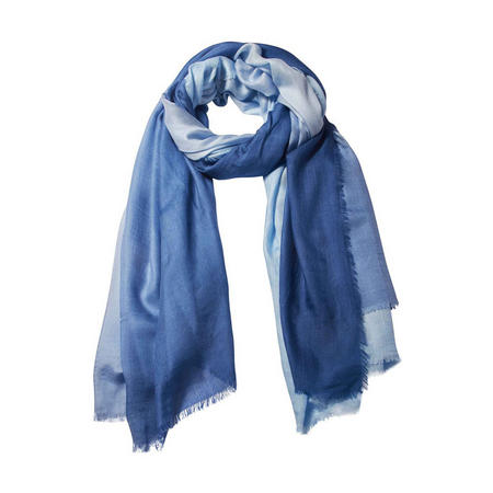 Dip It Modal Silk Scarf Blue