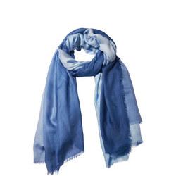 Dip It Modal Silk Scarf Blue