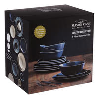 Classic Collection Blue 12 Piece Dinner Set