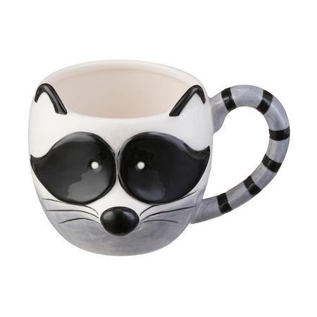 Raccoon Woodland Mug