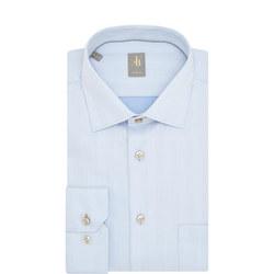Custom Fit Herringbone Shirt