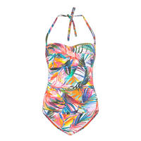 Halter-Neck Swimsuit Multicolour