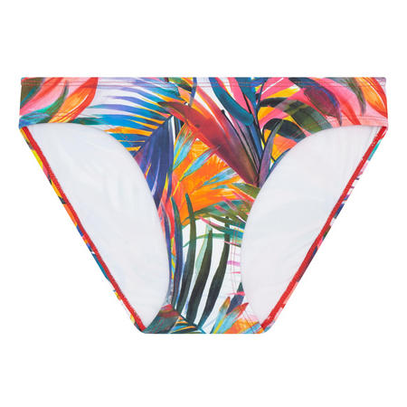 Tropical Print Bikini Bottoms Multicolour