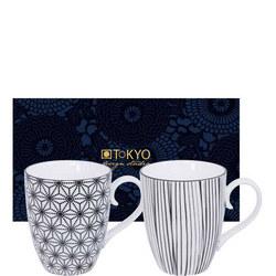Nippon Mug Set Star & Lines