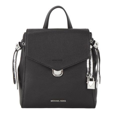 Bristol Flap Backpack Black