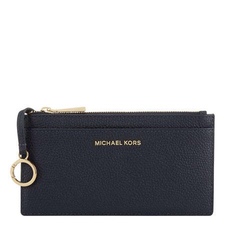Slim Long Card Holder Navy