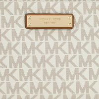 Adele Logo Print Smartphone Wallet Cream