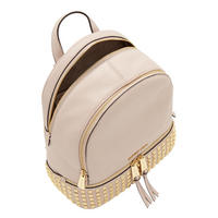 Rhea Studded Backpack Medium Pink